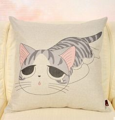 Japanese Style Cats Cushion Covers