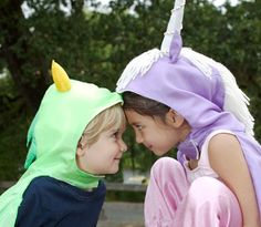 Unicorn and Dragon Costumes | Sarah's Silks