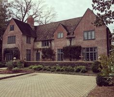 """""""Admiring the details on this Shutze house in Buckhead at the end of a long, cold  ride."""""""
