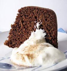 Bolo de Chocolate com Laranja