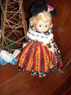 """7"""" vintage madame alexander Alex kins   plastic sleep eye doll toy Germanfor sale in my store The Chic N Prim cottage ebay have to put in the """"the """" in search engine $30 FREE Shipping when you spend $30 or more!"""