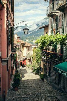 Bellaggio, Lake Como, Italy #Italy #travell