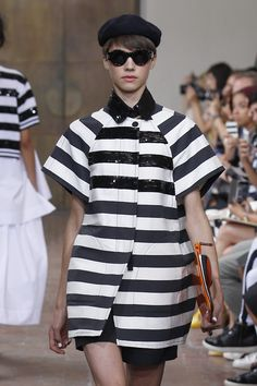 @antoniomarras channeled Parisian chic in his #SS15 collection. Oui Madame! #MFW