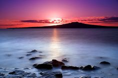 Hike to the summit of Rangitoto - a black lava volcanic island off of Auckland, #NewZealand.