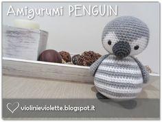 crochet penguin ♥