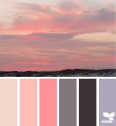 Heavenly Hues via @designseeds