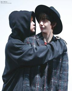 Wonho and Hyungwon