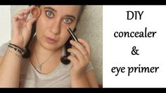 DIY: concealer& eye primer|Beautylovers Eye Primer, Diy Beauty, Concealer, Eyes, Youtube, Homemade Beauty Products, Cat Eyes, Youtubers, Eye Shadow