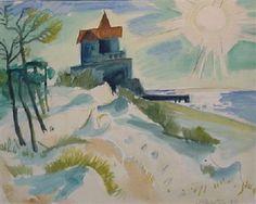 NACHMITTAG By Max Pechstein ,1922