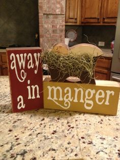 Away in a manger Christmas