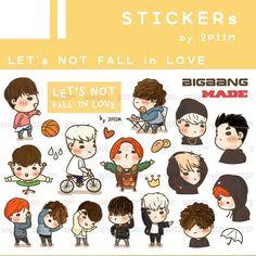 [Pre-order] 2PIIM Stickers :: LET's NOT FALL in LOVE รายละเอียดปักหมุดไว้หน้า twitter 2piim แล้วนะคะ // worldwide ship more info. contact twitter/line 2piim ^^