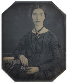 """Emily Dickinson. """"They say that """"times assuages"""". - Time never did assuage - An actual suffering strengthens As sinews do, with Age - Time is a Test of Trouble - But not a Remedy - If such it prove, it prove too There was no Malady -"""" (861)"""