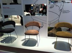 Calligaris - sedia New Jork - Salone del Mobile 2013