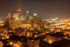 Minneapolis, MN at night