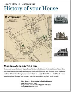 Flyer from Bay Shore - Brightwaters Public Library