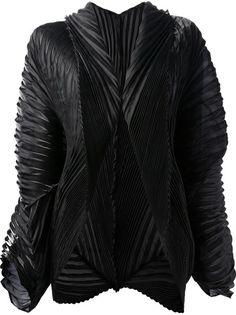 ISSEY MIYAKE MEN Pleated Structured Jacket