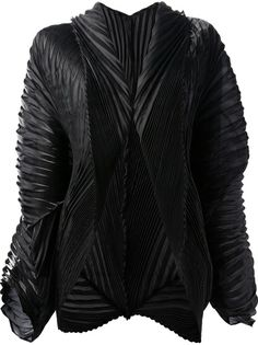 ISSEY MIYAKE MEN Pleated Structured Jacket