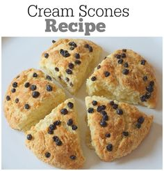 Cream Scones : delicious breakfast scones recipe!