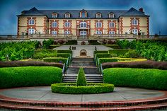 Taittinger's Domaine Carneros Winery in Napa Valley