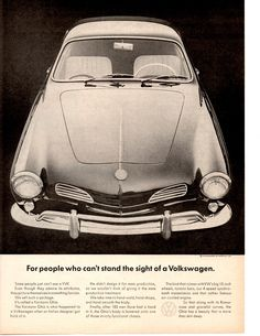 1964 Volkswagen Karmann Ghia Classic Original