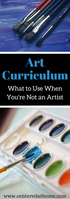 What We've Used and Loved Curriculum Series – Art via @Centered at Home