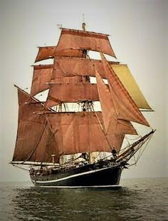"The ""Mary Celeste"" Tall Ship: Moby Dick, Mary Celeste, Old Sailing Ships, Ghost Ship, Wooden Ship, Sail Away, Wakeboarding, Wooden Boats, Tall Ships"