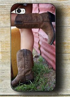 Country Girl iPhone Case fits iphone 4 iphone 5 by CowGirlCentral