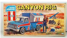 Ideal Evel Knievel Canyon Rig.