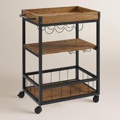 Metal Ranney Kitchen Cart /// Maybe a pantry cart if I end up having enough space