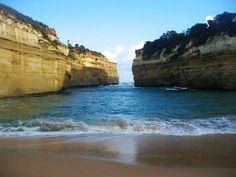 Looking out to sea from Loch Ard Gorge beach