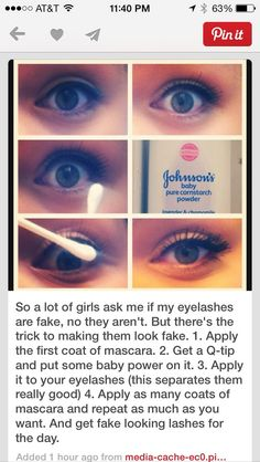 How to make your eyelashes look longer #Various #Trusper #Tip