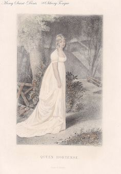 Queen Hortense print from ca. 1860.