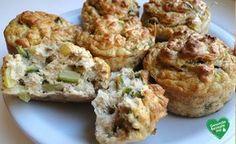 Thunfisch Muffins, low carb Diät rezept