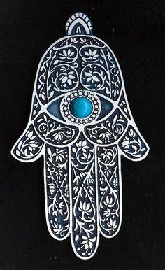 ♦️Hand of Fatima خمسة / חַמְסָה / Hamsa / AMULET / KHAMSAH /  More Pins Like This At FOSTERGINGER @ Pinterest ♦️