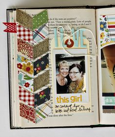 "hello all and happy saturday!  we usually only have posts over here during the week and the DT has the weekend off. haha! well, this weekend i have a treat for you. i had more to share of my altered ""a list"" book with you all.Read more..."