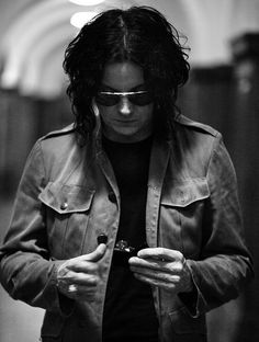 jack white, I'm attracted to him because of his mind and the musician he is. I once saw an hr long interview with conan...best interview I've ever seen.