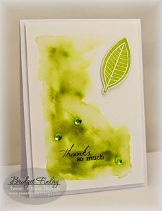Sweet 'n Sassy Stamps used: Leaf Silhouettes set, Leaf Silhouettes dies, So Grateful set.