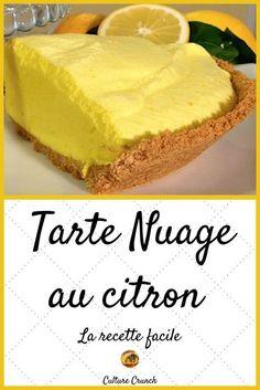 Zitronenwolken-Torte - Gâteaux et desserts recipes pies Sweet Recipes, Cake Recipes, Snack Recipes, Dessert Recipes, Snacks, Lemon Recipes, Apple Desserts, Lemon Desserts, Desserts Citron