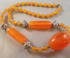 Image of Orange Kenyan Necklace