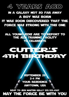 Star Wars / Jedi Training Academy Birthday Party Ideas | Photo 1 of 22 | Catch My Party