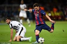 ترکیب اصلی یوونتوس – بارسلونا