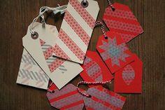 DIY Christmas Tag Cards