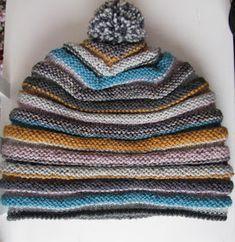 Eihän mun pitänyt pipoa enää tälle talvelle neuloa, mutta Muita ihania -blogin jämäpipon ohje houkutteli kaivamaan omatkin jämälangat ...