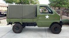 1999 Suzuki Carry 4×4 Mini Truck