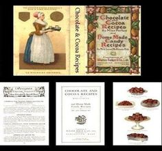 Dollhouse-Early-1900s-Style-Chocolate-Cocoa-Recipe-Book-Miniature-for-Doll-House