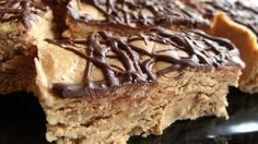 No Bake Thick and Chewy Peanut Butter Protein Bars More