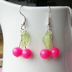 Sweet Cherry Earrings