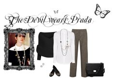 """""""The Devil Wears Prada"""" by michellecraig on Polyvore featuring Prada, Alice + Olivia, Aéropostale, Oasis, Maria Corcuera and Aspinal of London"""