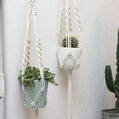 Macrame Plant Hanger / Plant Holder / Hanging Planter /