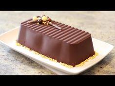 Lingote de Chocolate Casero y Fácil. Recetas de Navidad